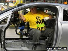 Opel and Vauxhall workers are concerned about their jobs