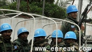 The UN accused Mr Gbagbo of distorting its position and threatening its personnel