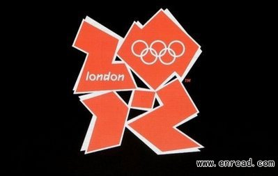 The logo for the London 2012 Olympics.