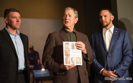 George W Bushs book of paintings praised by art critic