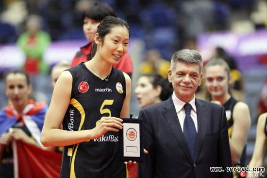 土耳其排球联合会主席:朱婷可以担任中土大使